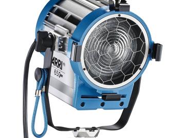 Lender: ARRI 650W Plus Tungsten Fresnel (120-240 VAC)