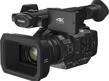 Lender: Panasonic HC-X1 Ultra HD 4K