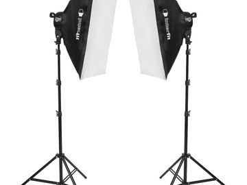Lender: Interfit F5 Two-Head Fluorescent Lighting