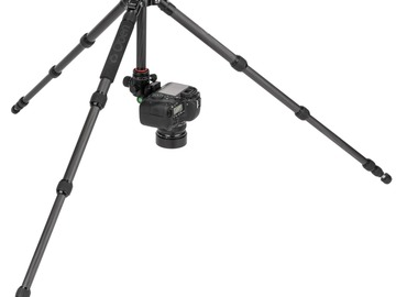 Lender: Oben CT-3565 and BZ-217T Triple-Action Ball Head