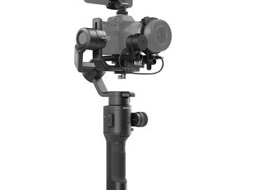 Lender: DJI Ronin-SC Gimbal Stabilizer Pro Combo Kit
