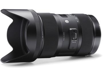 Lender: Sigma 18-35mm f/1.8 DC HSM Art Lens