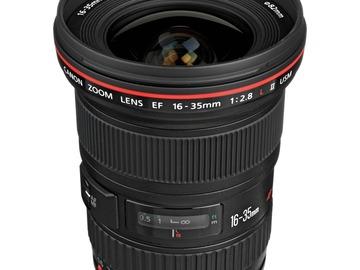 Lender: Canon EF 16-35mm f/2.8L II USM