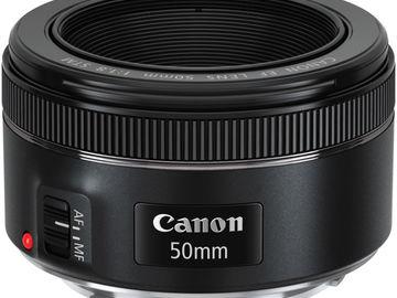 Lender: Canon EF 50mm f/1.8 STM Lens