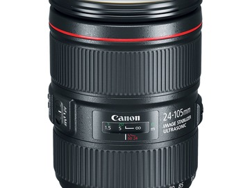 Lender: Canon EF 24-105mm f/4L IS II USM Lens