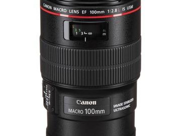 Lender: Canon EF 100mm f/2.8 Macro USM Lens