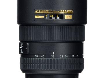 Lender: Nikon AF-S DX Zoom-NIKKOR 17-55mm f/2.8G IF-ED Lens