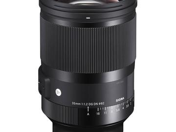 Lender: Sigma 35mm f/1.2 DG DN