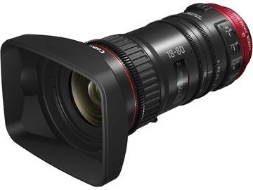 Lender: Canon CN-E 18-80mm T4.4 COMPACT-SERVO Cinema Zoom Lens