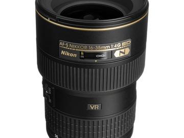 Lender: Nikon AF-S NIKKOR 16-35mm f/4G ED VR Lens