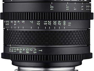 Lender: Xeen CF 24mm T1.5