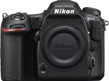 Lender: Nikon D500