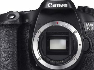 Lender: Canon 70D