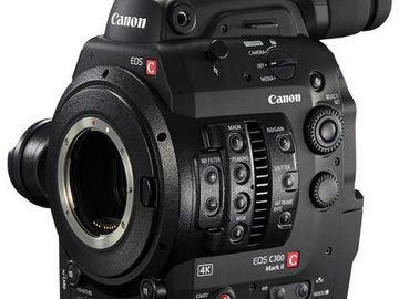Lender: Canon EOS C300 MK II