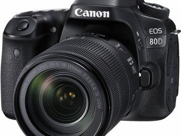Lender: Canon EOS 80D