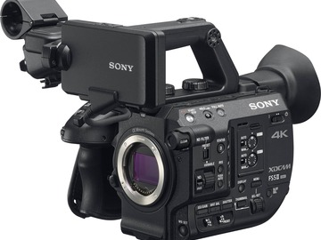 Lender: Sony PXW-FS5 4K XDCAM
