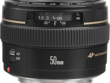 Lender: Canon EF 50mm f/1.4 USM Lens