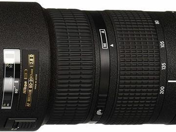 Lender: Nikon AF Zoom-NIKKOR 80-200mm f/2.8D ED Lens