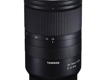Lender: Tamron 28-75mm f/2.8 Di III RXD Lens