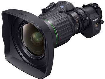 Lender: Canon 4.3-52mm 4K UHD Portable Semi-Servo Lens