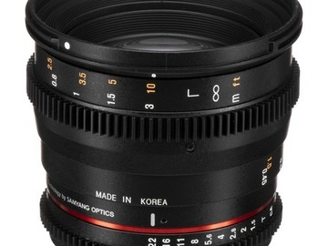 Lender: Rokinon 50mm T1.5 AS UMC Cine DS Lens