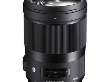 Lender: Sigma 40mm F1.4 DG HSM Art