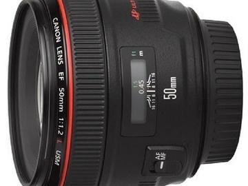 Lender: Canon EF 50mm f/1.2L USM