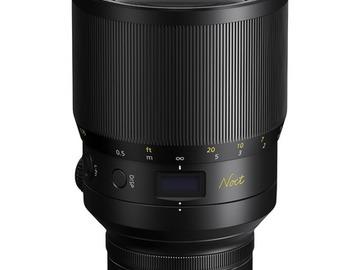 Lender: Nikon Nikkor Z 58mm f/0.95 Noct S