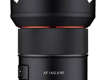Lender: Samyang AF 14mm F2.8 RF