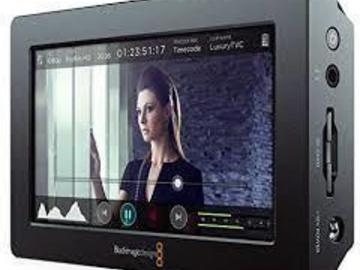 "Lender: Blackmagic Design Video Assist 4K 7"" HDMI/6G-SDI Recording M"