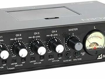 Lender: Azden FMX-42u 4-Channel Microphone Field Mixer