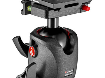 Lender: Manfrotto XPRO Magnesium Ball Head with MSQ6PL Quick Release