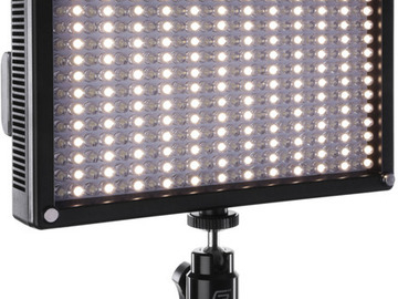 Lender: Genaray LED-7100T 312 LED Variable-Color On-Camera Light