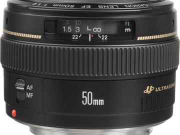 Lender: Canon ef 50mm , f 1,4