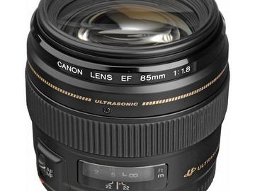 Lender: Canon ef 85mm, f1.8