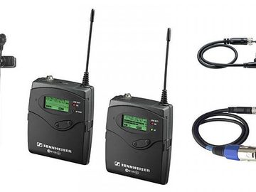 Lender: Sennheiser EW100 G2 Wireless Lavalier Mic Kit