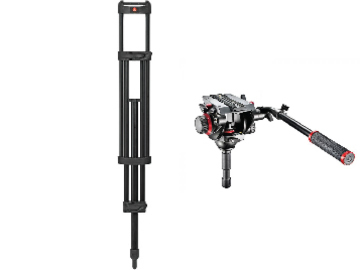Lender: Manfrotto 546B Legs & 504HD 75mm Head With Case