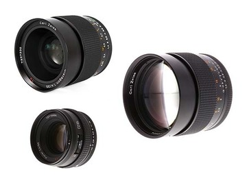 Lender: Contax Zeiss Super Speed EF Mount Cinemodded Lens Package