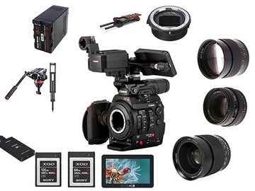 Lender: Sony FS7M2 - Narrative Camera, Prime Lens, Sound & Tripod Pa