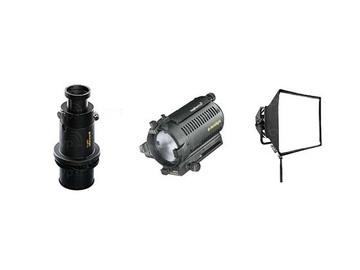 Lender: 1 x Dedolight DLH4 w/ DP1 85mm Projection Lens, Softbox & Go
