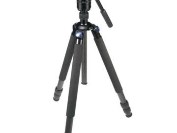 Lender: Sirui R-3213X + VH-10X Kit Stativ m/teleskopben 190 cm