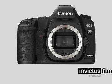 Lender: Canon 5D Mark ii / EF Full Frame (Uden Optik)