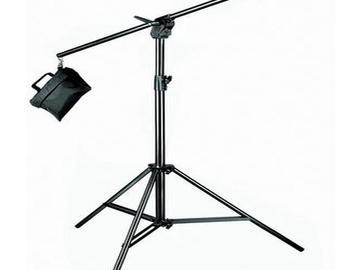 Lender: Boom Stand stativ Manfrotto 420B Combi w/Sandbag