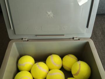 Lender: Tennisbolde til Stativer
