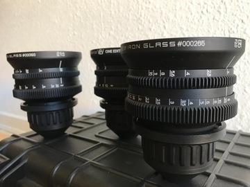 Lender: Ironglass rehoused lens set