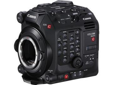 Lender: CANON CINEMA EOS C500 Mark II