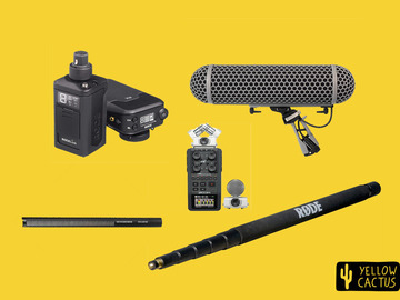 Lender: Wireless Sound Recording Kit (With Zoom H6)