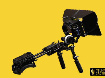 Lender: Tilta Shoulder Rig with V-lock plate, Follow Focus and Matte