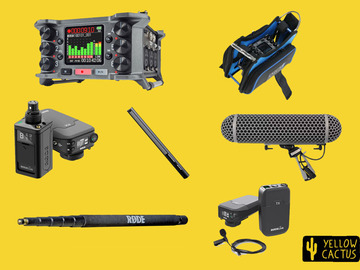 Lender: Professional Wireless Sound recording Kit