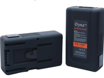 Lender: DYNACORE DS 150 SI V-LOCK WITH BUILT IN CHARGER